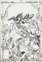 Amethyst #4 Cover (1987) Comic Art