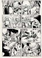 Conan European Comic Book Art Page 6 Comic Art