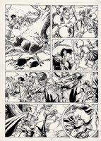 Conan European Comic Book Art Page 8 Comic Art