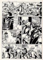 Conan European Comic Book Art Page 9 Comic Art