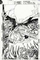 Zatanna #4 Cover (1993) Comic Art