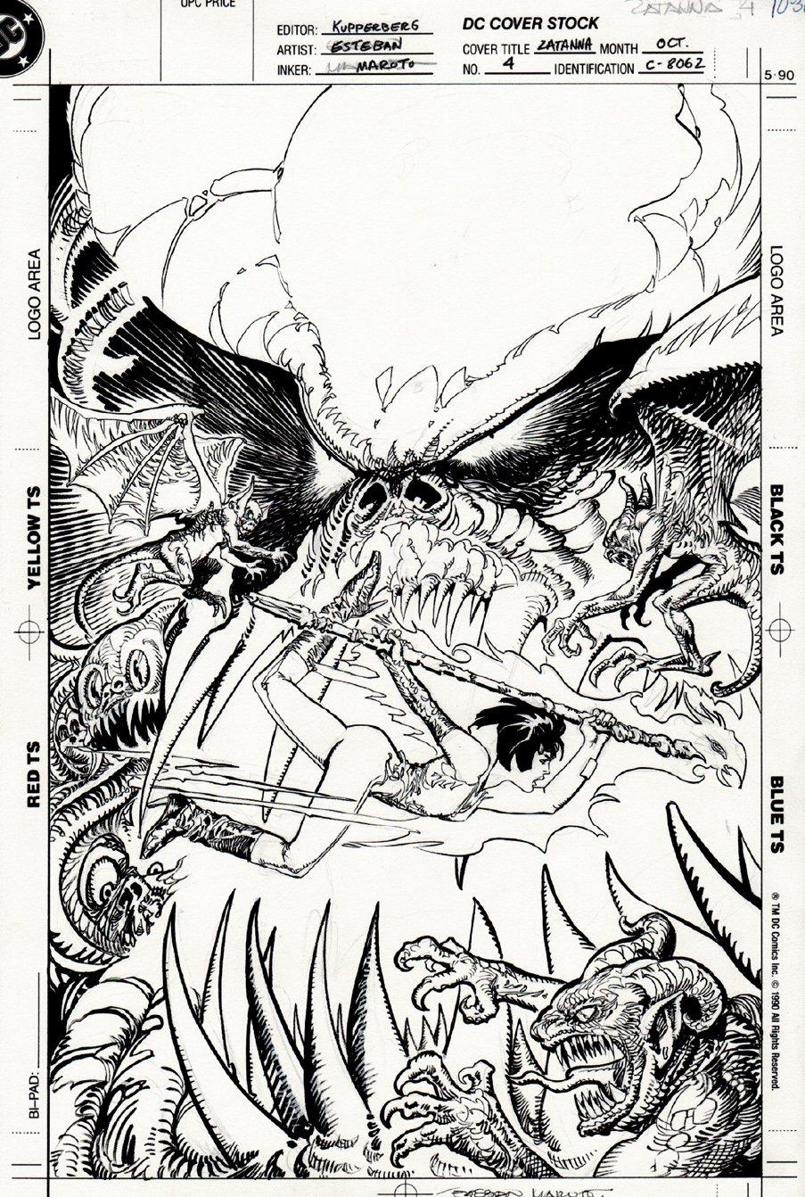 Zatanna #4 Cover (1993)