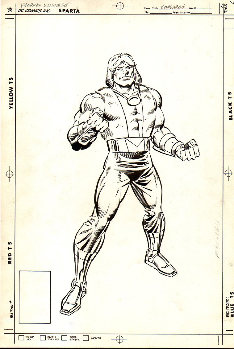 Official Hand Book of the Marvel Universe P 18
