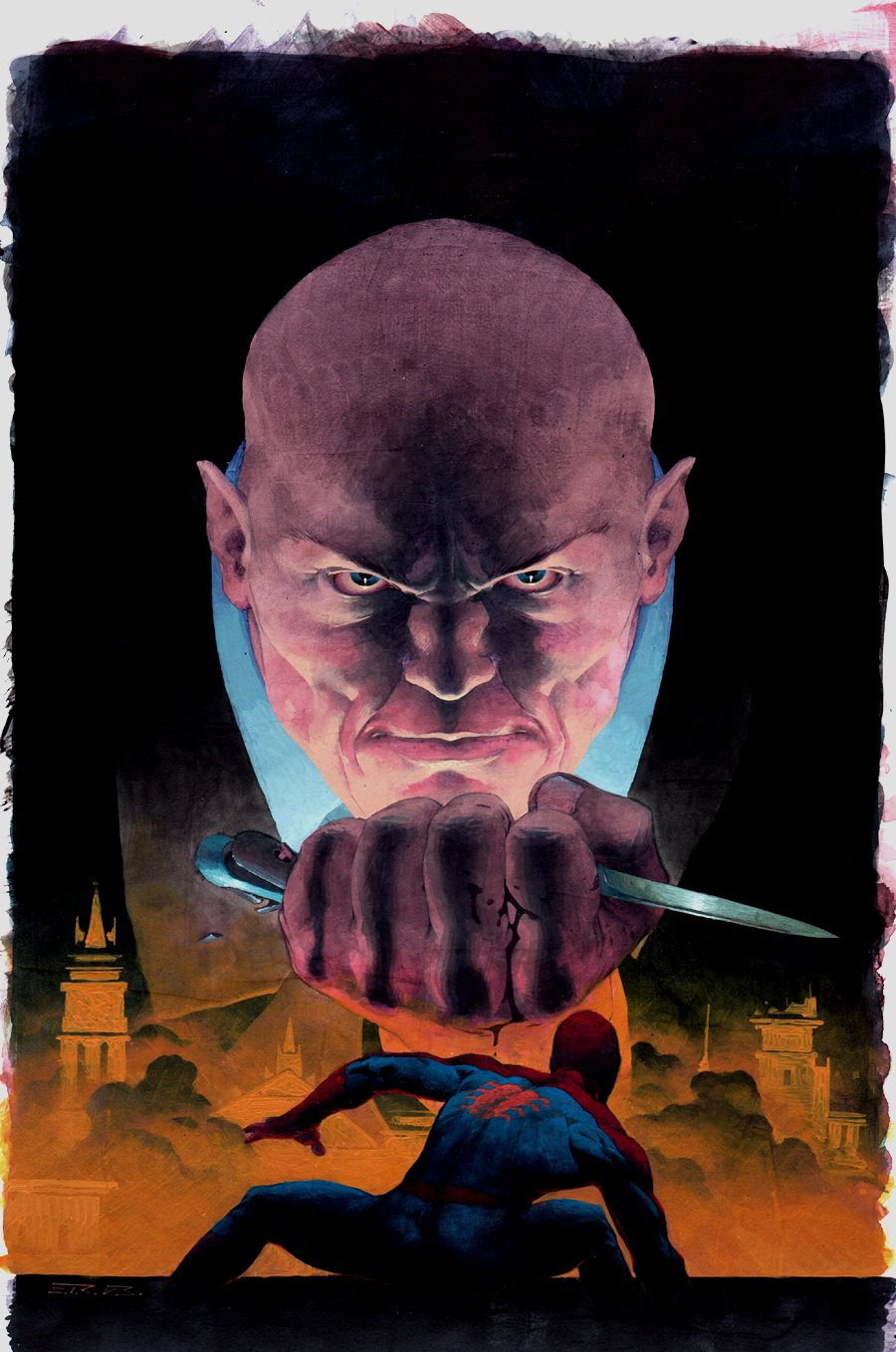 Kingpin #2 Cover Painting (2003)