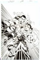 Action Comics Issue 853 Page COVER (2007) Comic Art