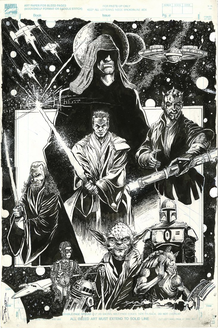 Star Wars Large Pinup (2000)