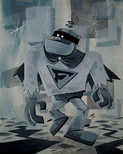 Frankenstein Jr. Painting