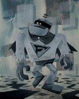 Frankenstein Jr. Painting Comic Art