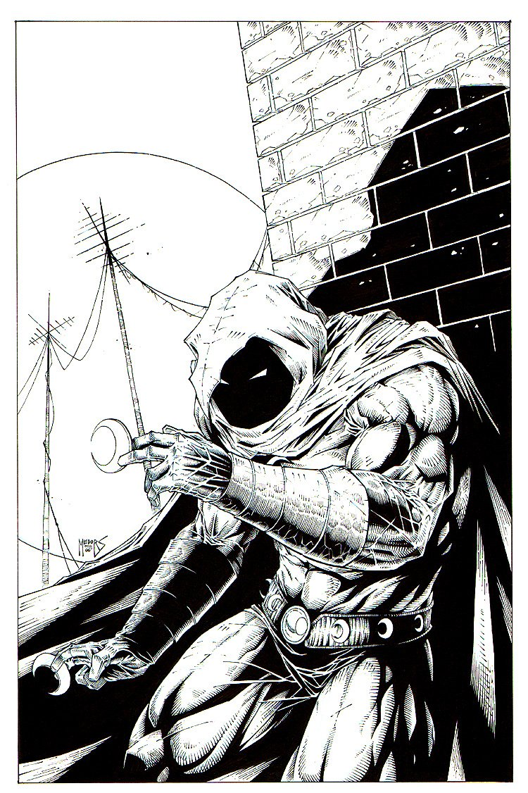 Moonknight Pinup