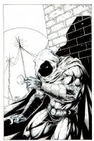 Moonknight Pinup (2006) Comic Art