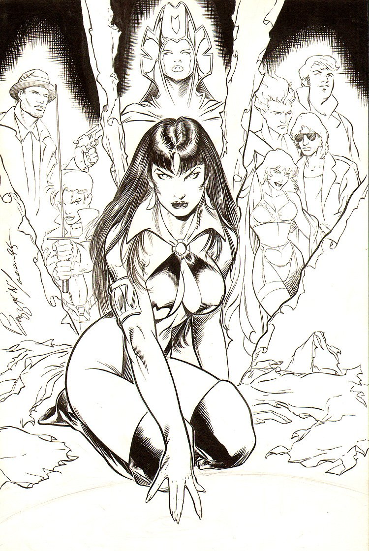 Vengeance Of Vampirella: The Mystery Walk