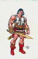 Conan Full Color Pinup (2007) Comic Art
