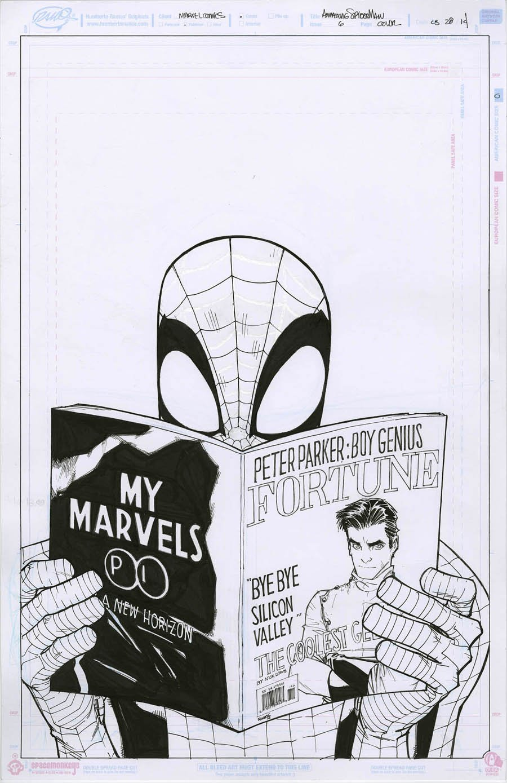 Amazing Spider-Man #6 Cover (2014)