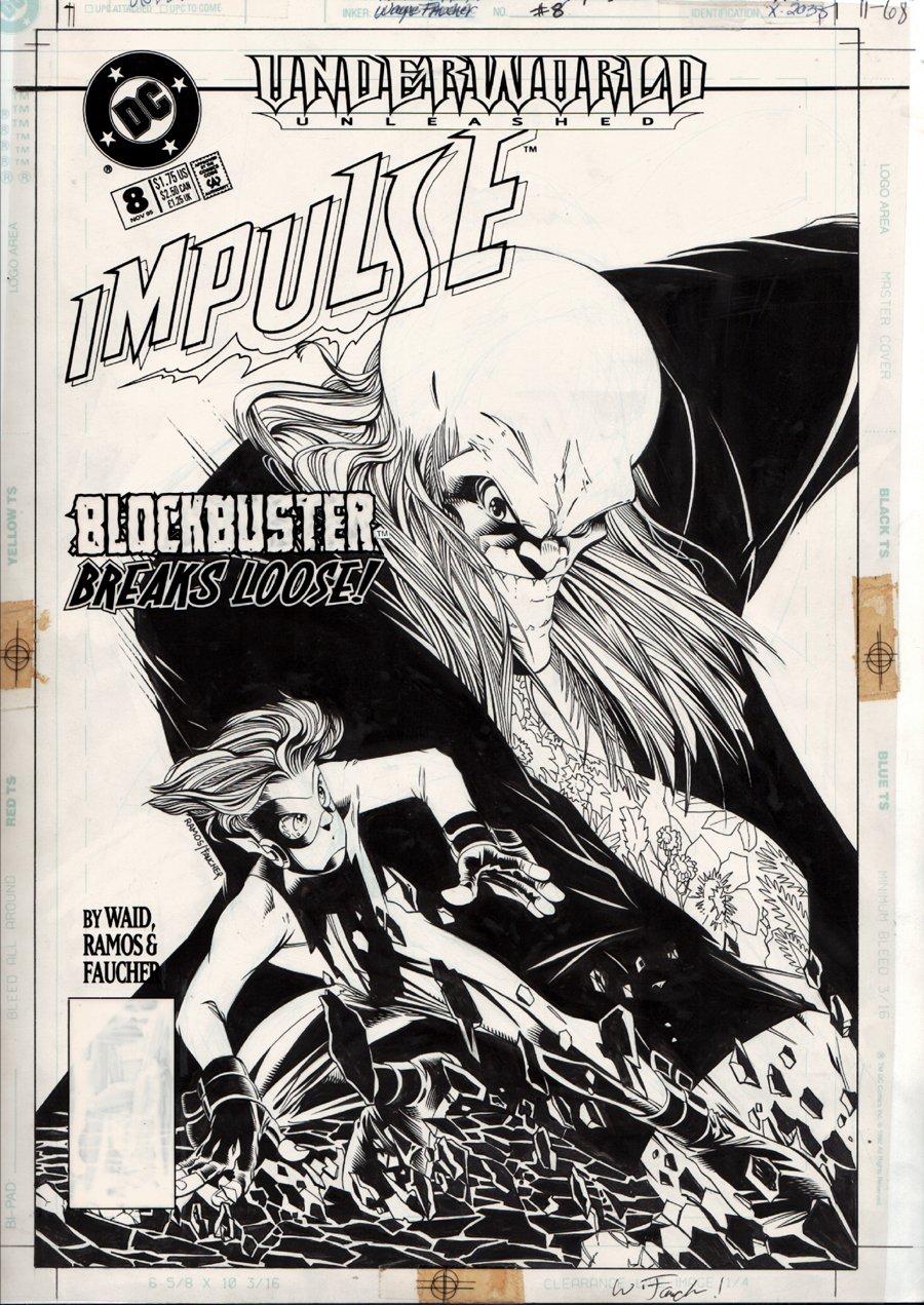 Impulse #8 Cover (1995)