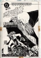 Impulse #8 Cover (1995) Comic Art