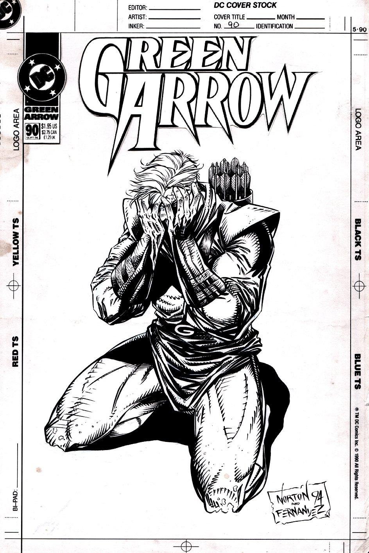 Green Arrow #90 Cover (1994)