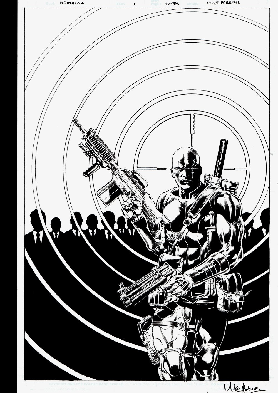 Deathlok #1 Unused Cover Art (2014)