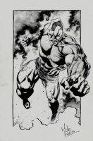 Savage Dragon Pinup Comic Art