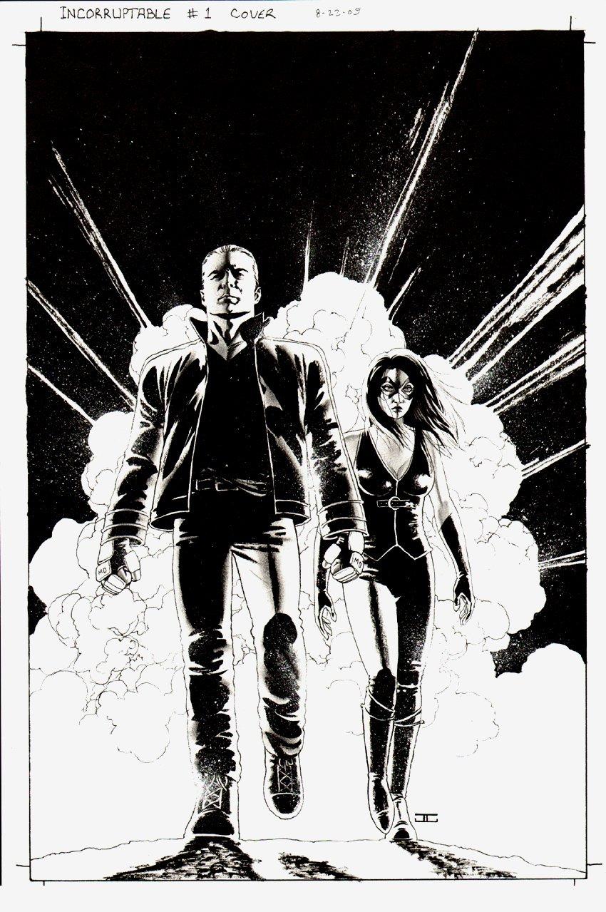 Incorruptible #1 Cover (2009)