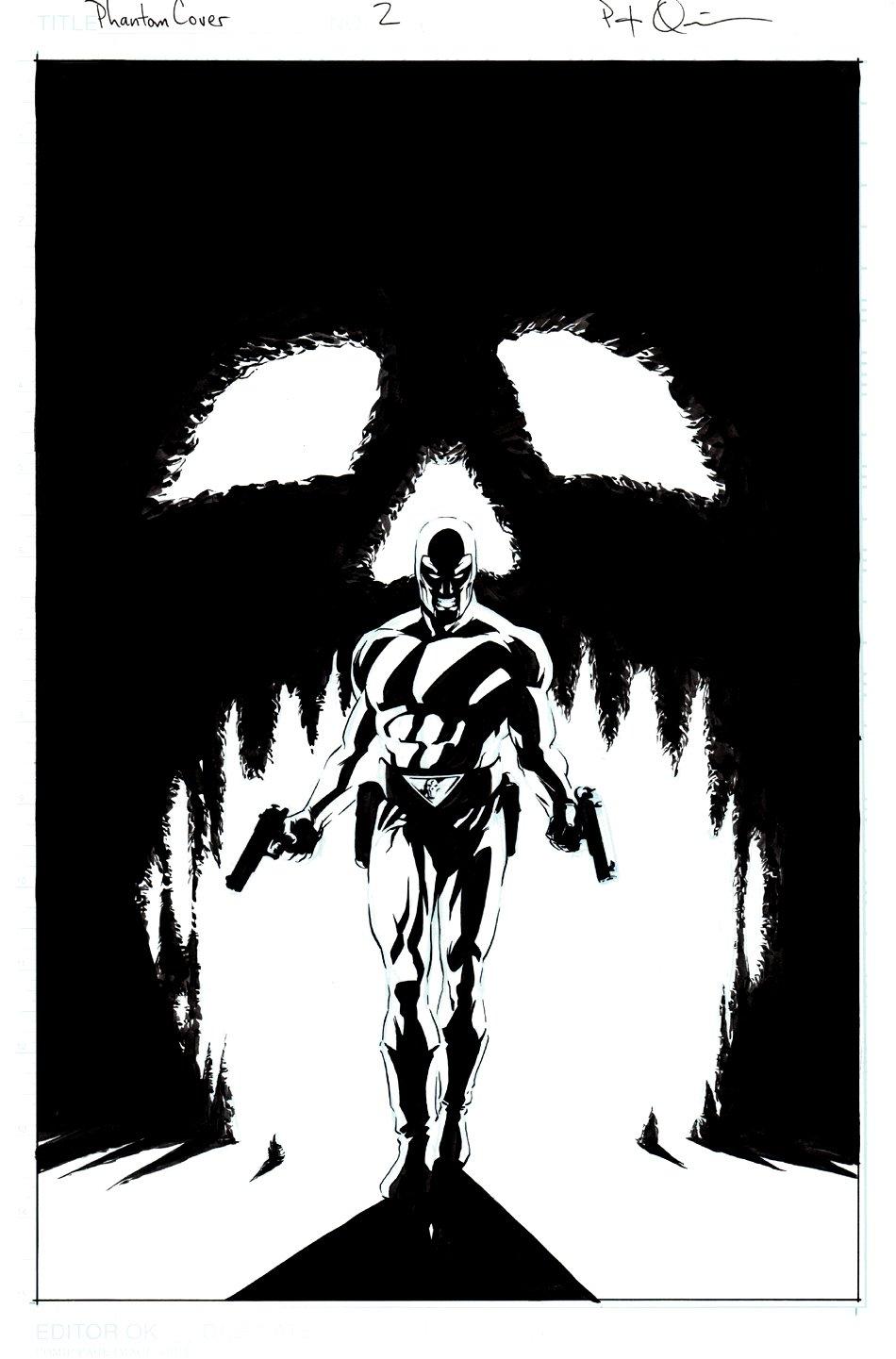 The Phantom #2 Cover (2003)