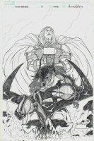 Stormbreaker: The Saga of Beta Ray Bill #5 Cover (2005) Comic Art