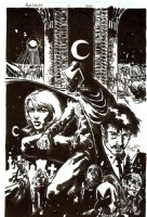 Moon Knight Issue 1 Page COVER (1997)  Comic Art