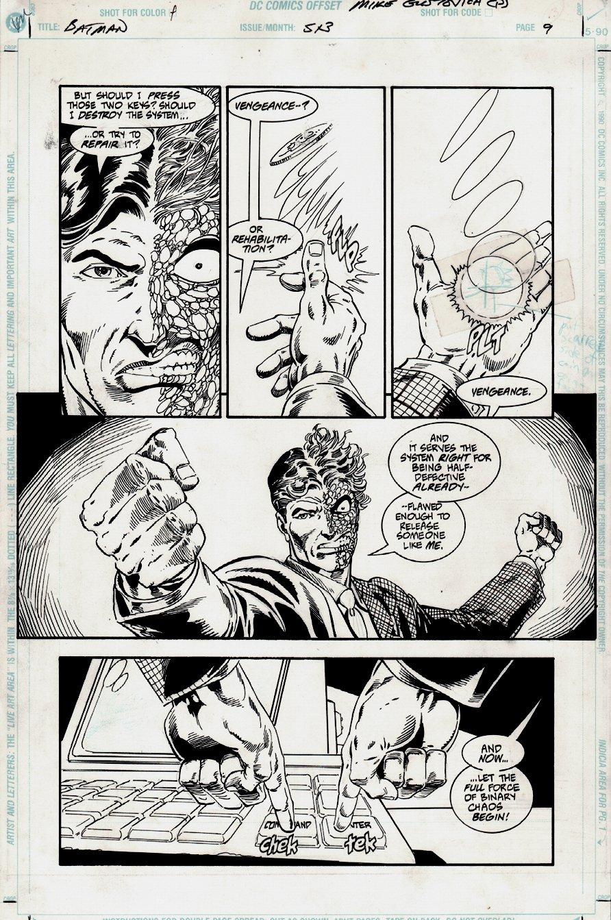 Batman #513 p 9 (1994)