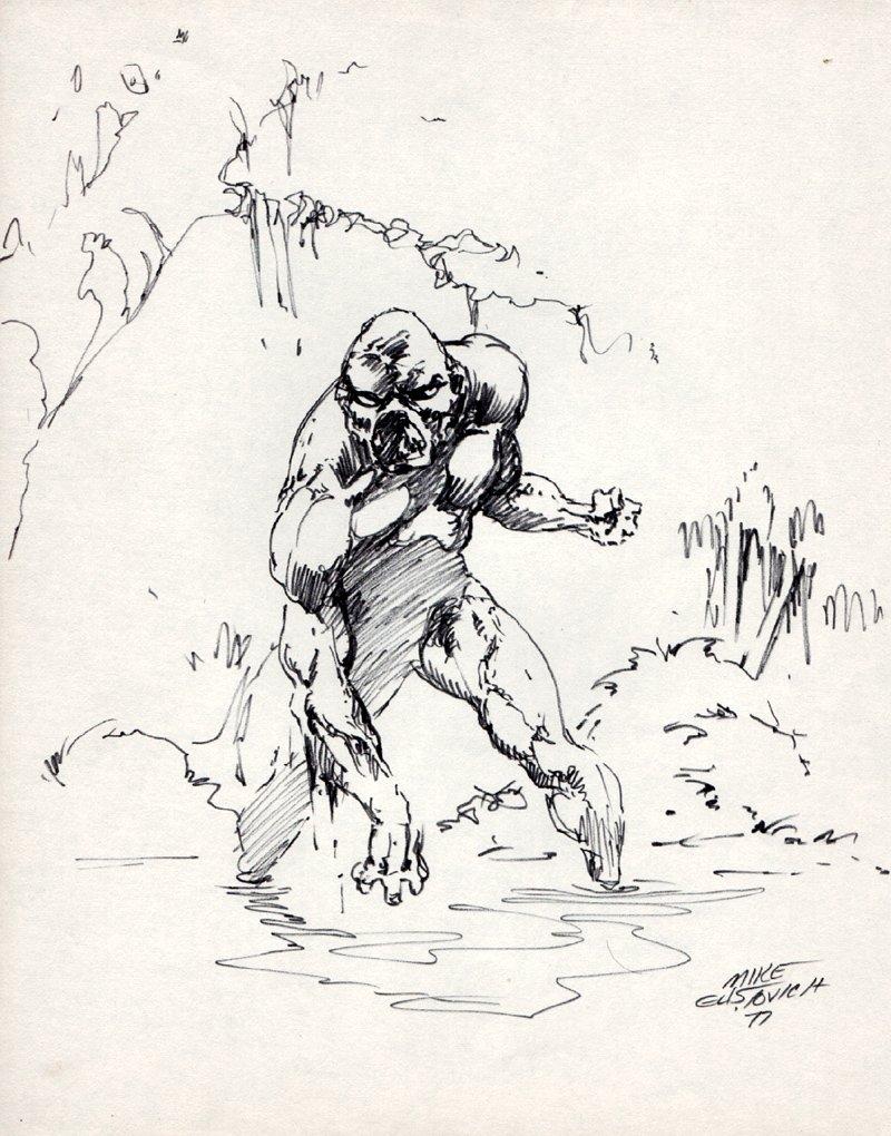 Swamp-Thing Pinup (1977)