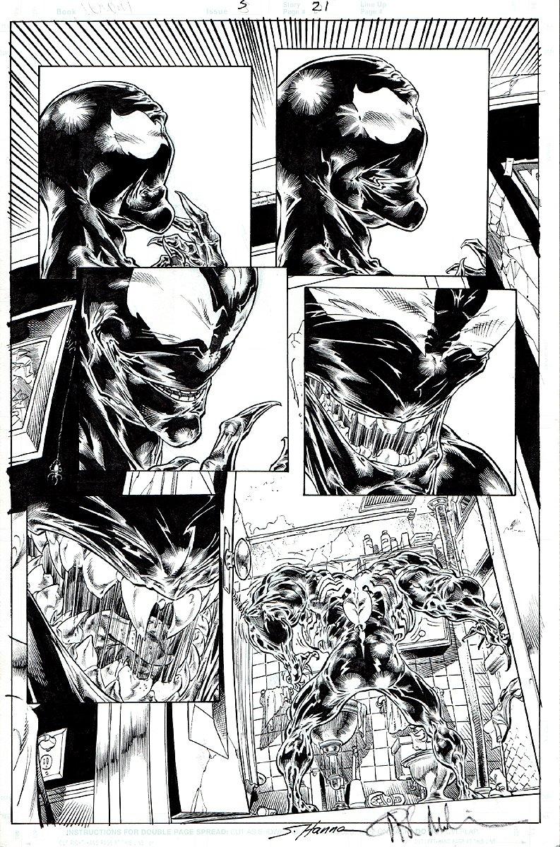 Venom: Dark Origin #3 p 21 (2008)