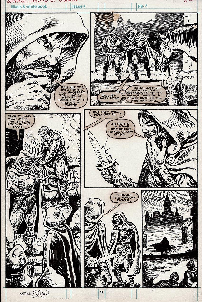Savage Sword of Conan #169 p 18 (1989)