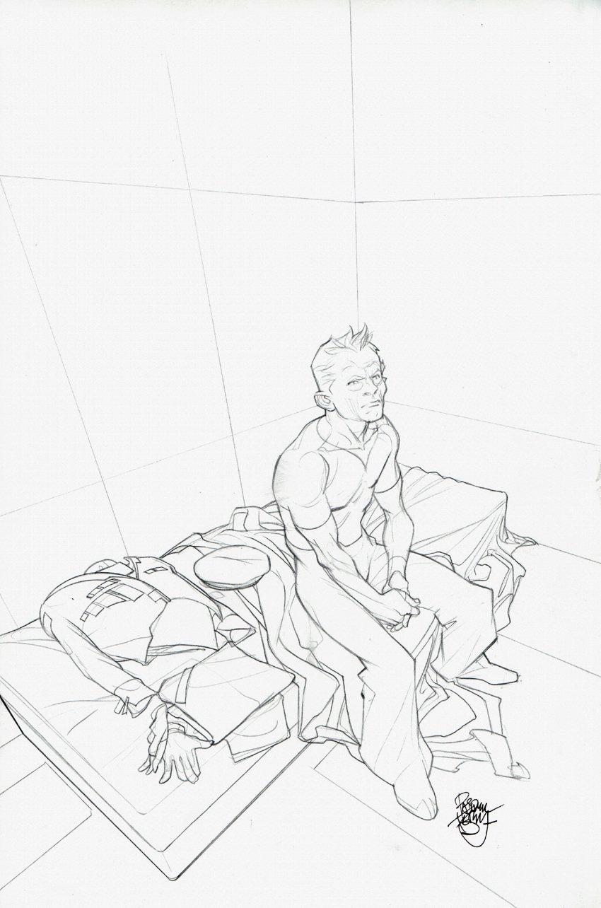 Ender's Game: Mazer in Prison #1 Cover (2009)