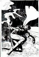 Batman: Family #5 Cover (2003) Comic Art