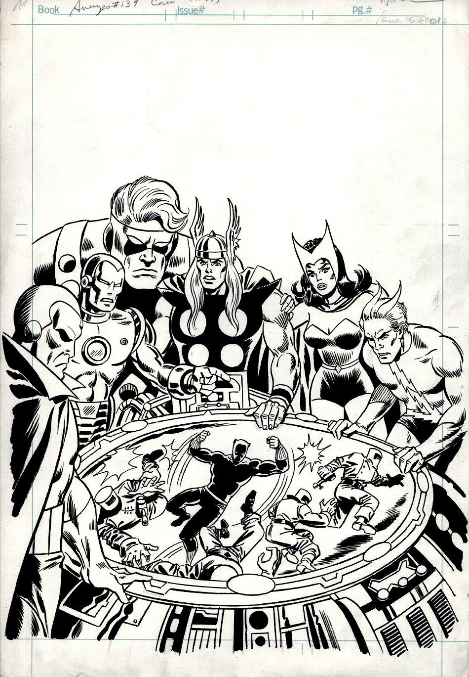 Avengers #139 Cover (1976)