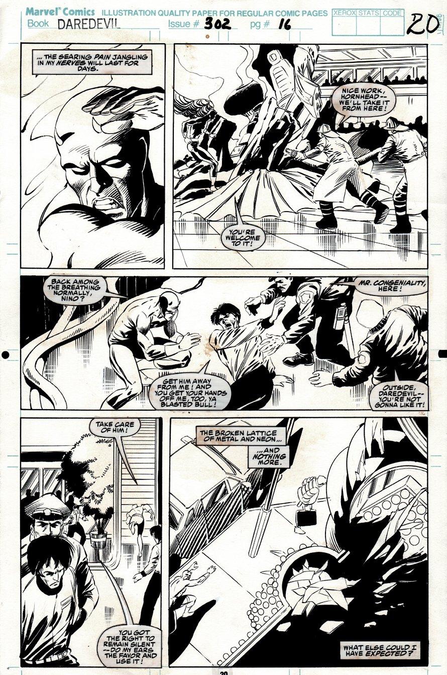Daredevil #302 p 20 (1991)