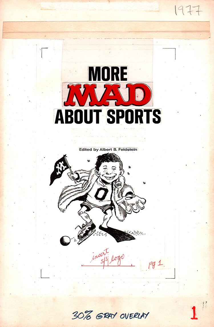 More Mad About Sports Book FRONTIS page (1977)