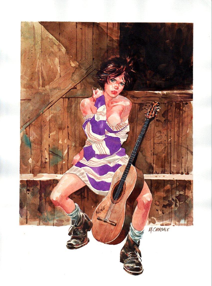 SKORPIO #29 Painted Cover (2001)
