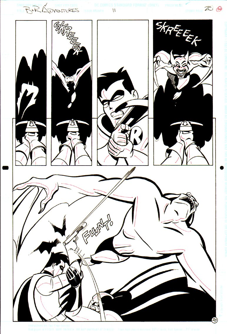 Batman & Robin Adventures Annual #11 p 20 SPLASH