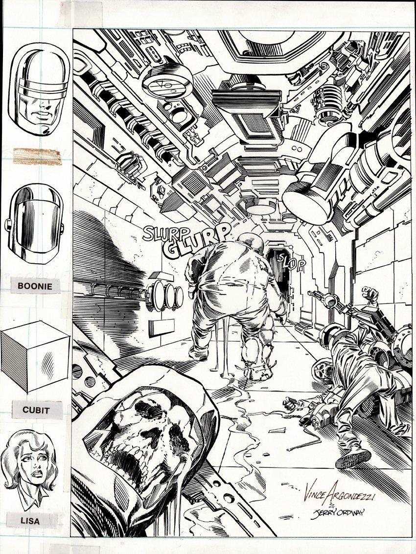 Next Man #5 Cover (1985)