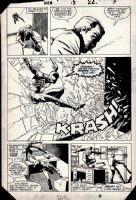 Web of Spider-Man #13 p 17 1/2 SPLASH (1985) Comic Art