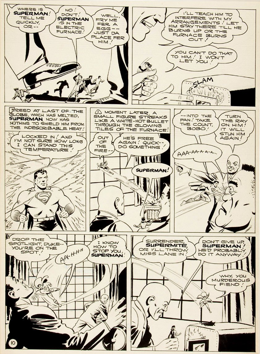 Golden Age 1944 Superman Page