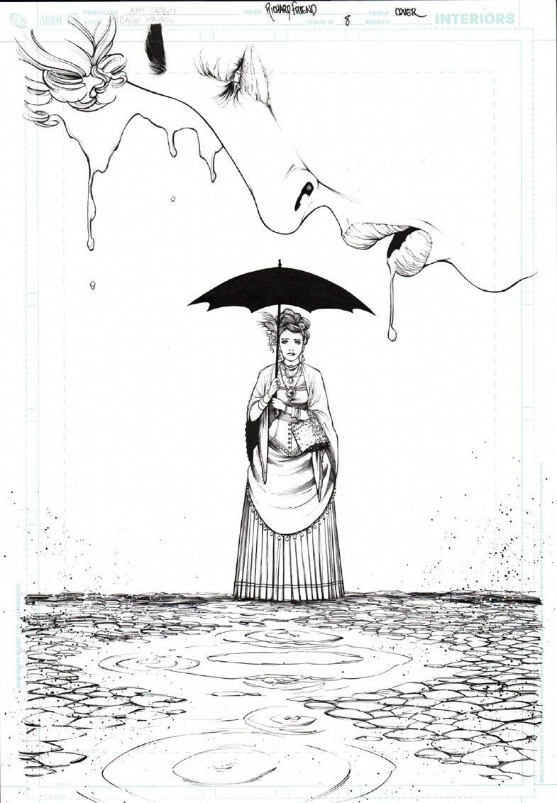 Madame Xanadu #8 Cover (2009)