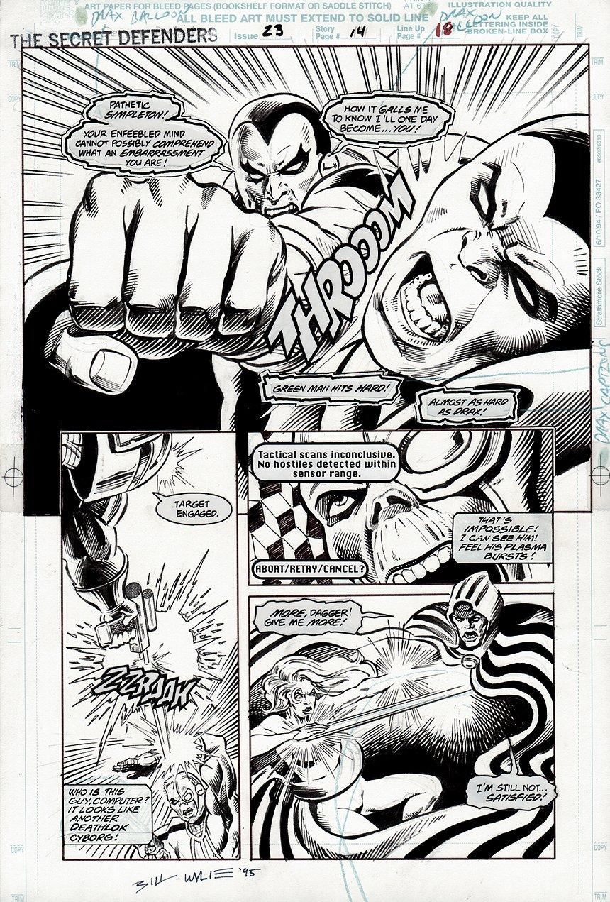 Secret Defenders #23 pg 14