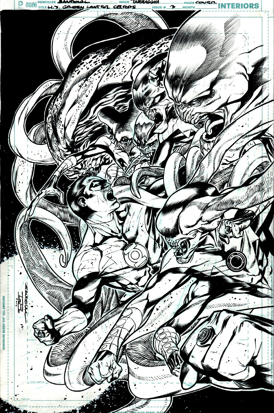 Hal Jordan and the Green Lantern Corps #3 Cover