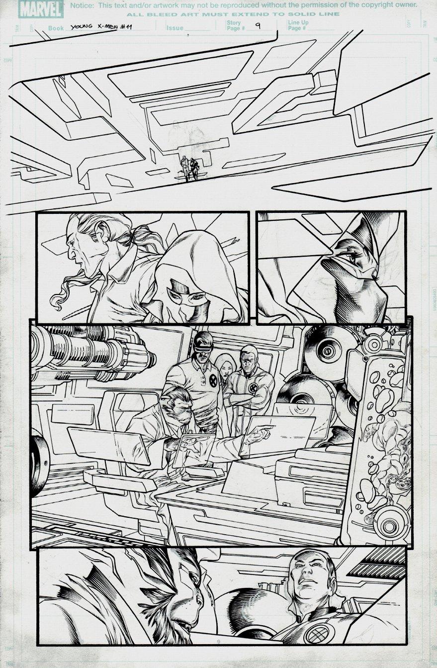 Young X-Men #11 p 9 (2008)