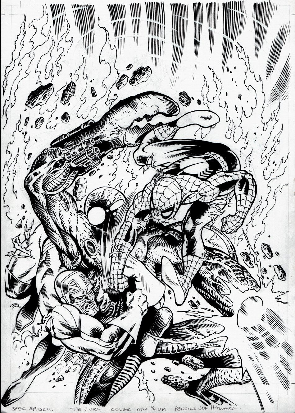 Spectacular Spider-Man #133 Cover (2006)
