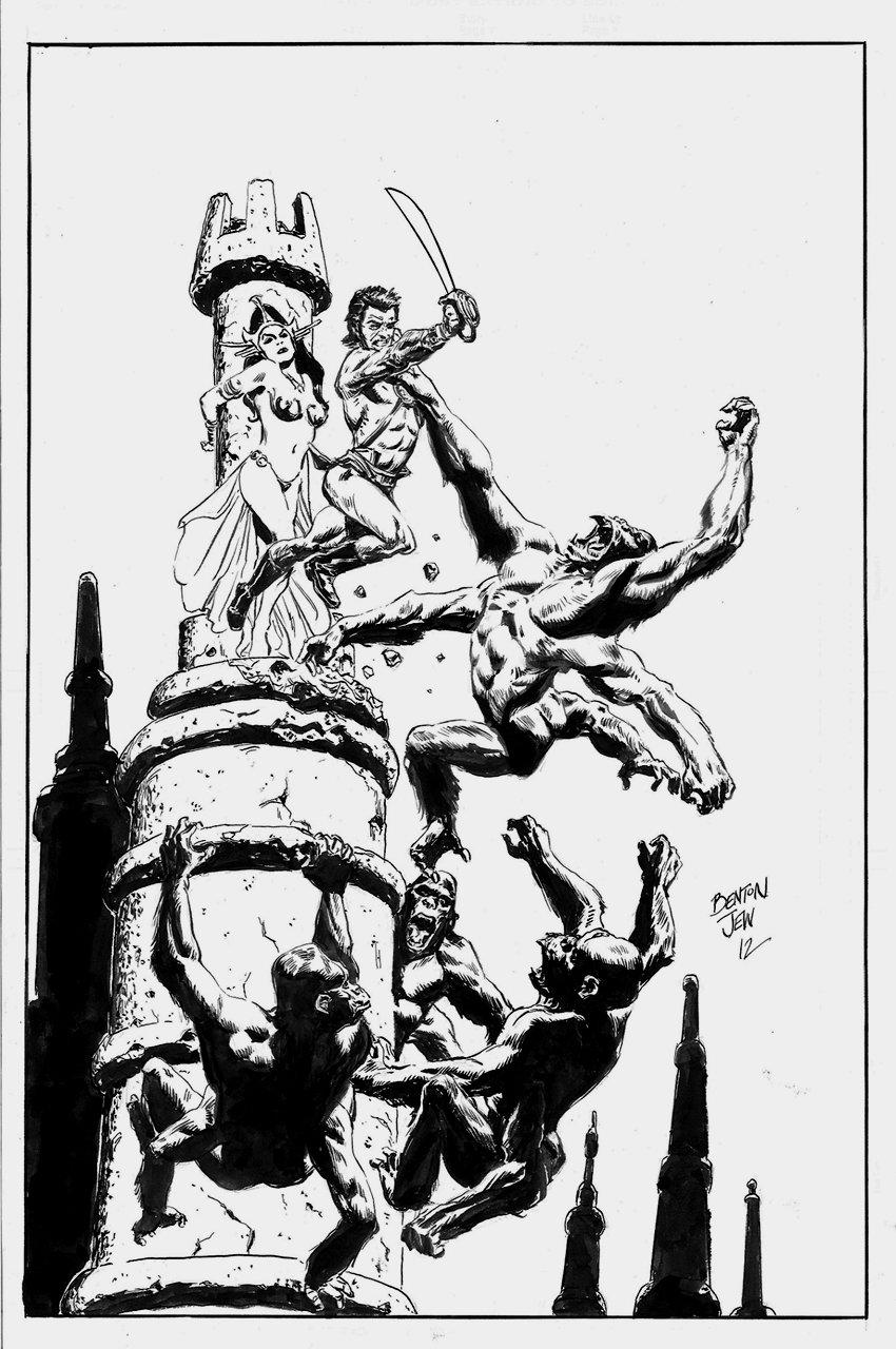 John Carter And Dejah Thoris Pinup