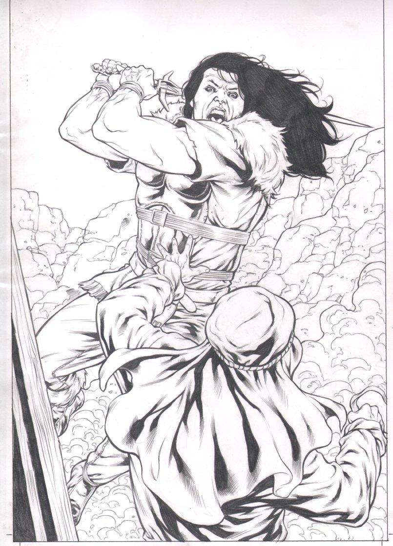 Highlander Origins: Kurgan #1 Cover (2009)