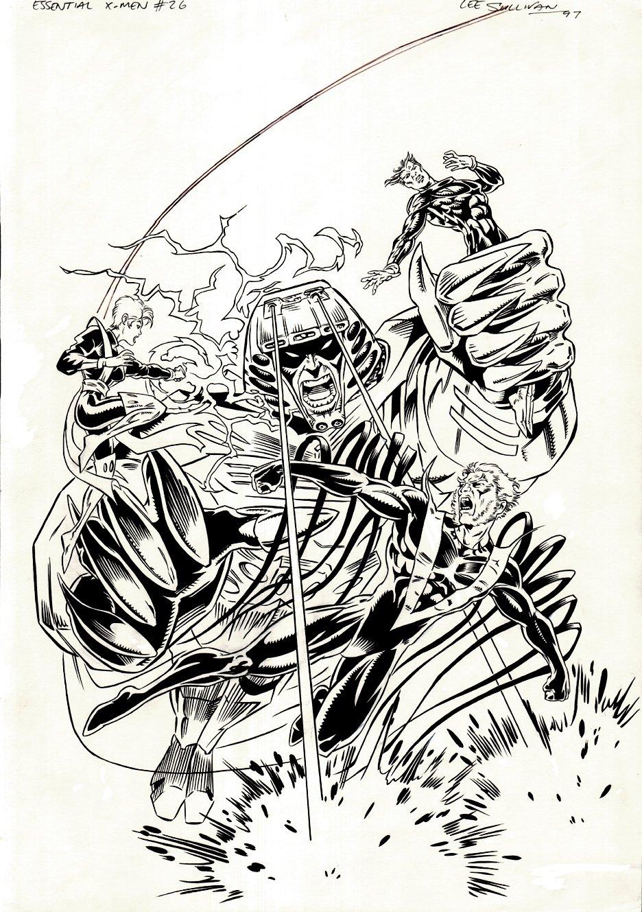 Essential X-Men #26 Cover (1997)