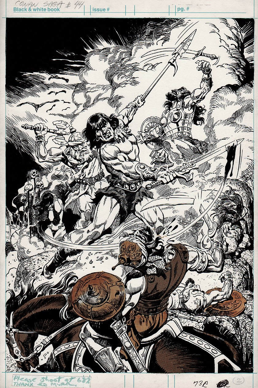Conan Saga #44 Splash (1990)