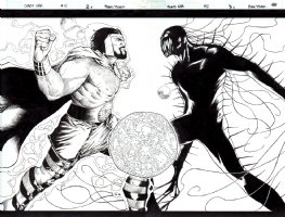 Chaos War # 5 p 2-3 Double Spread Splash (2010) Comic Art